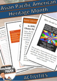 Asian Pacific American Heritage Month | For All Ages | Eng
