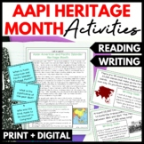 Asian Pacific American Heritage Month Reading and Writing