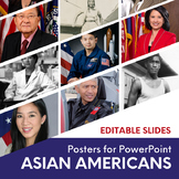 Asian Americans Pacific Americans Posters for PowerPoint