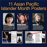 Asian Pacific Islander Month Posters! 11 Posters of Divers