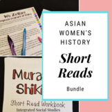 Asian Women's History Short Reads Bundle