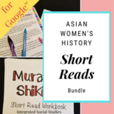Asian Women's History Short Reads Bundle for Google Classroom™