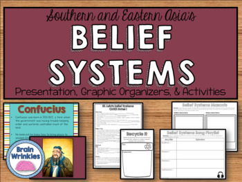Southern and Eastern Asia's Belief Systems (SS7G12)