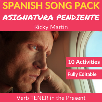 Asignatura Pendiente by Ricky Martin: Song to Practice TENER in the Present