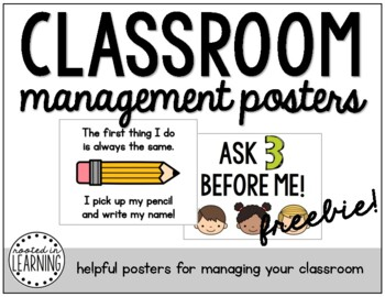 Classroom Management Posters (FREEBIE)
