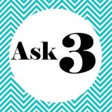 Ask 3 Before Me Visual Poster Series