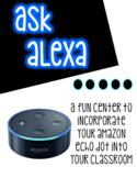Ask Alexa Centers  *amazon echo dot*