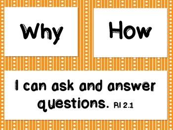 Ask & Answer Dinosaur Theme
