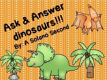 Ask & Answer Dinosaur Theme