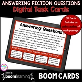 Ask & Answer Fiction Boom Cards ™ 2nd & 3rd Grade - Digita