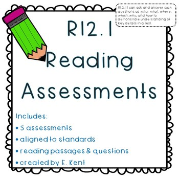 Ask & Answer Questions Assessments - RI2.1