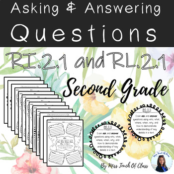 Ask and Answer Questions (templates)