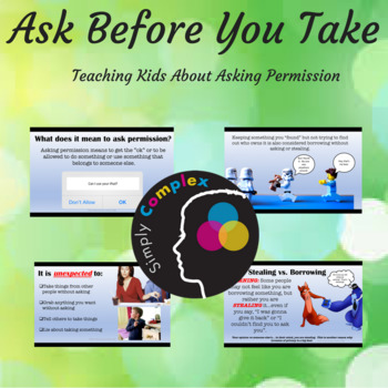Ask Before You Take; Teaching about Asking Permission