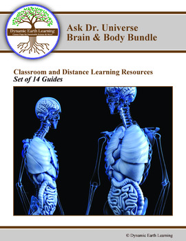 Ask Dr Universe: Brain and Body Set of 14 Guides