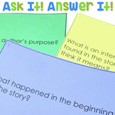 Ask It! Answer It! | Comprehension Questions for Any Book