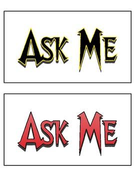 Ask ME PE Cards