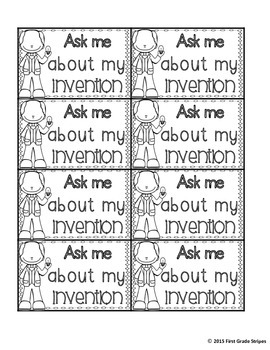 Ask Me About My Invention Button-FREEBIE