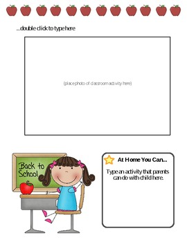 Ask Me About Newsletter Template - September