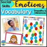 Social Skills Activities | Feelings Vocabulary for Empathy