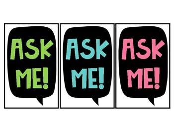 Ask Me Lanyards!