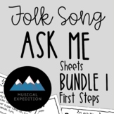 Ask Me Sheets BUNDLE! First Steps in Music