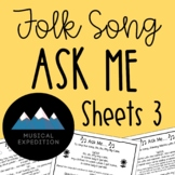 Ask Me Sheets, First Steps in Music, Year 2, Semester 1
