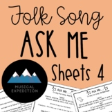 Ask Me Sheets- First Steps in Music, Year 2, Semester 2