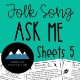 Ask Me Sheets- First Steps in Music, Year 3, Semester 1