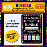 PRESCHOOL & KINDERGARTEN Language Arts, Math, Science, Social Studies BUNDLE