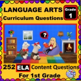 1ST GRADE LANGUAGE ARTS - Curriculum Map Questions for Teachers and Parents
