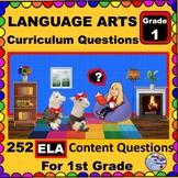 1ST GRADE LANGUAGE ARTS - Curriculum Map Questions for Tea