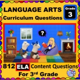 3RD GRADE LANGUAGE ARTS - Curriculum Map Questions for Tea