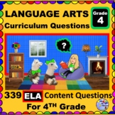 4TH GRADE LANGUAGE ARTS - Curriculum Map Questions for Tea