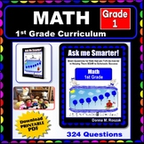 1ST GRADE MATH - Curriculum Map Progressive Questions for Teachers and Parents