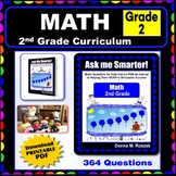 2ND GRADE MATH - Curriculum Map Progressive Questions for Teachers and Parents
