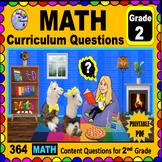 2ND GRADE MATH - Curriculum Map Progressive Questions for