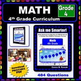4TH GRADE MATH - Curriculum Map Progressive Questions for Teachers and Parents