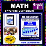 5TH GRADE MATH Curriculum Map Progressive Questions for Teachers and Parents