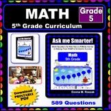 5TH GRADE MATH Curriculum Map Progressive Questions for Te