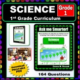 1ST GRADE SCIENCE Curriculum Map Progressive Questions for Teachers and Parents