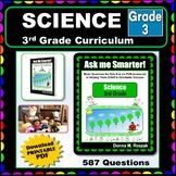3RD GRADE SCIENCE - Curriculum Map Progressive Questions for Teachers & Parents