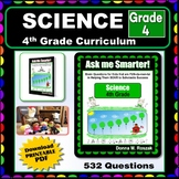 4TH GRADE SCIENCE -  Curriculum Map Progressive Questions for Teachers & Parents