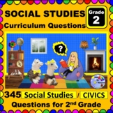 2ND GRADE SOCIAL STUDIES & CIVICS - Curriculum Map Progressive Questions