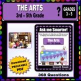 ART, MUSIC, DANCE, THEATRE -  Fine Arts 3rd - 5th Grade
