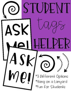 Ask Me! Student Tags