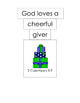 Ask Mr. Bear Bible Verse (2 Cor 9:7)