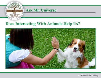 Ask Dr Universe: Does interacting with animals help us?