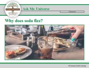 Ask Dr Universe: Why does soda fizz?