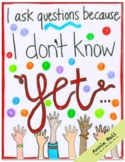 Ask Question - Growth Mindset Coloring Page Fun