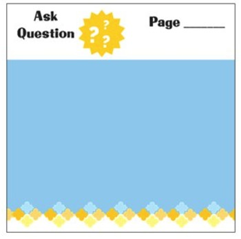 Ask Question Sticky Notes for Teachers & Students